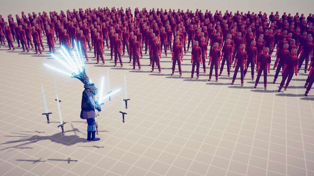 全面战争模拟器:剑仙VS全阵营军队!