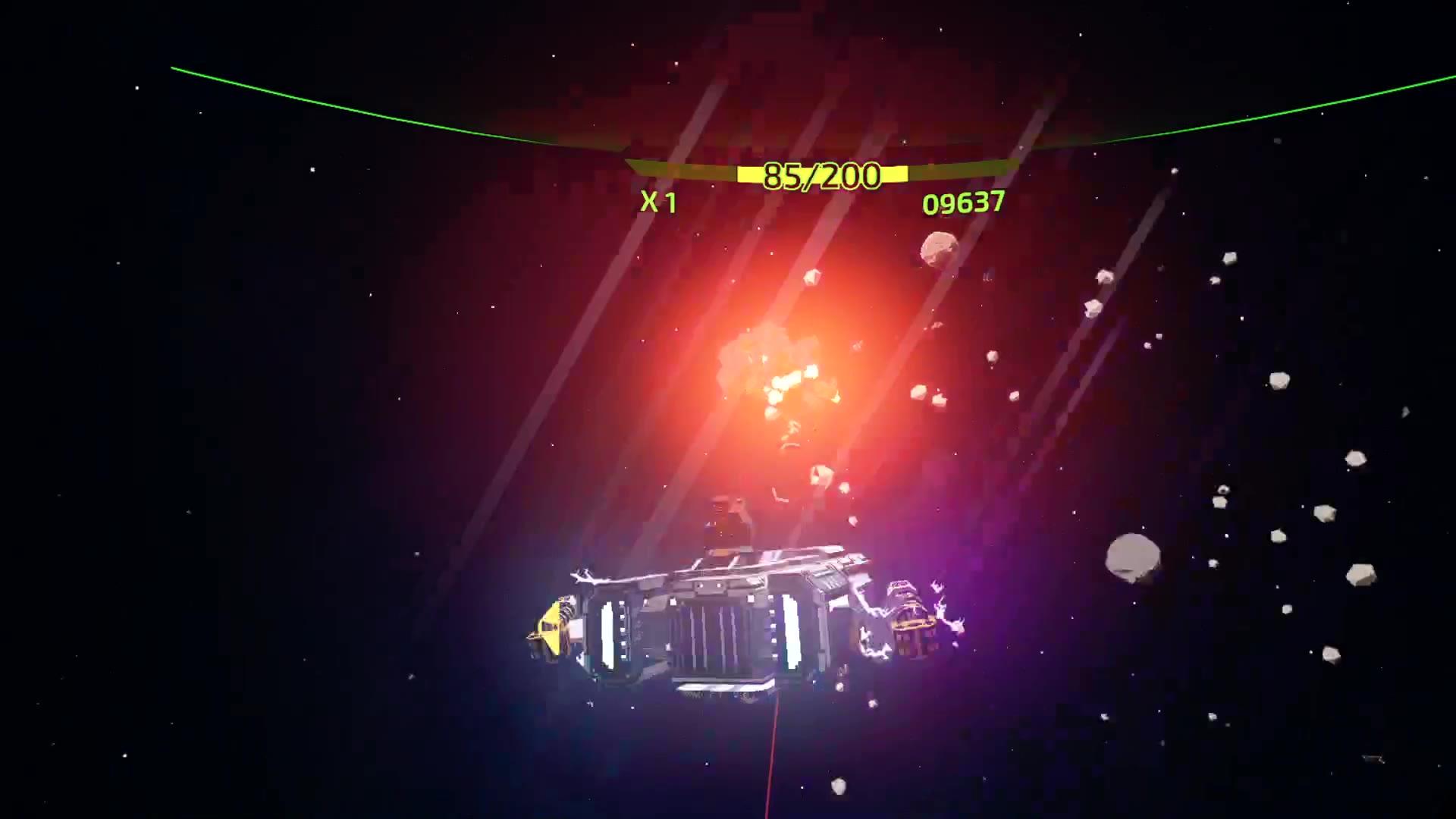 夜星联盟.VR游戏宇宙飞船星系大战
