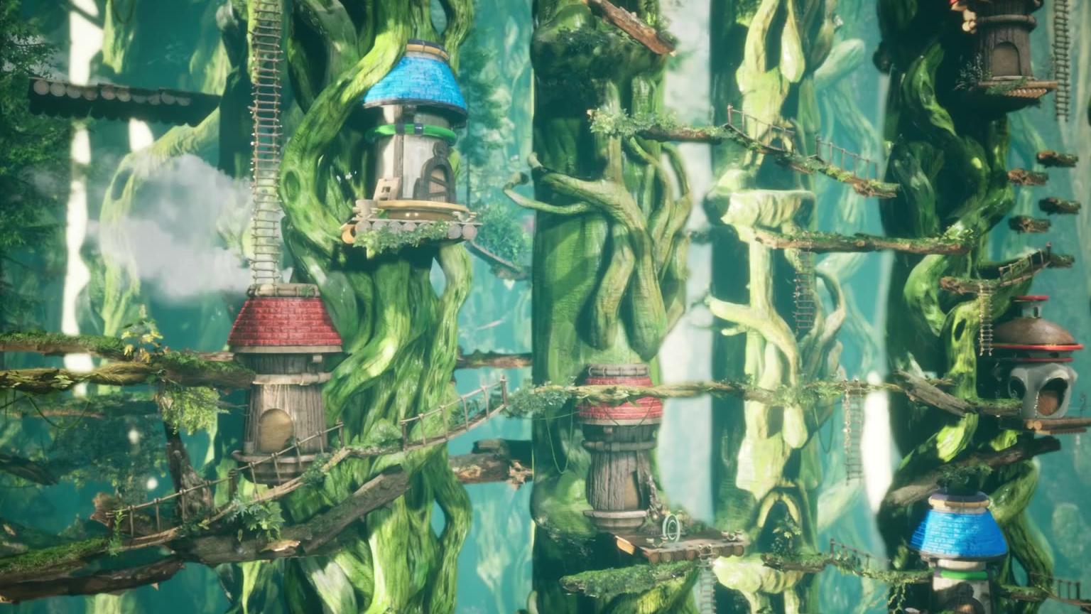 【冒险岛】3d魔法密林 (4k)