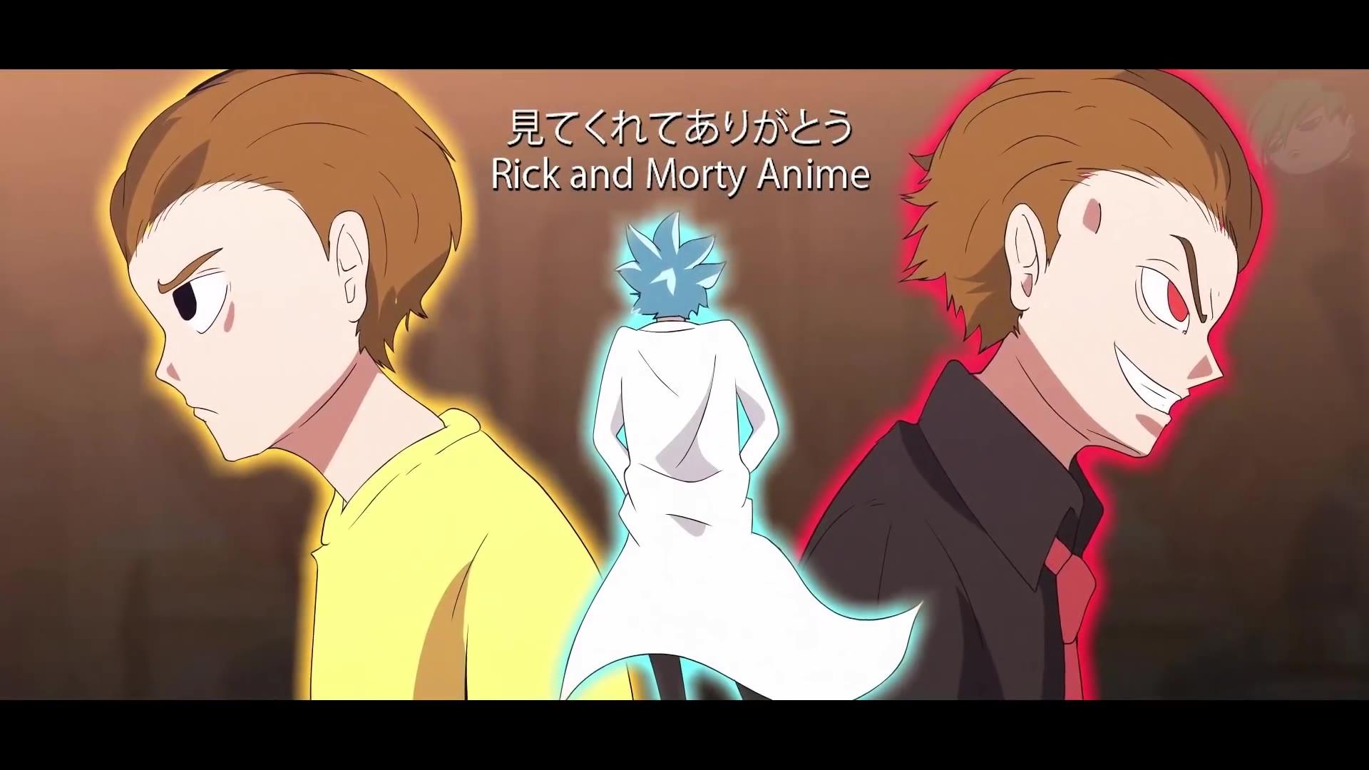 如果瑞克和莫蒂第四季开场动画是日漫风②
