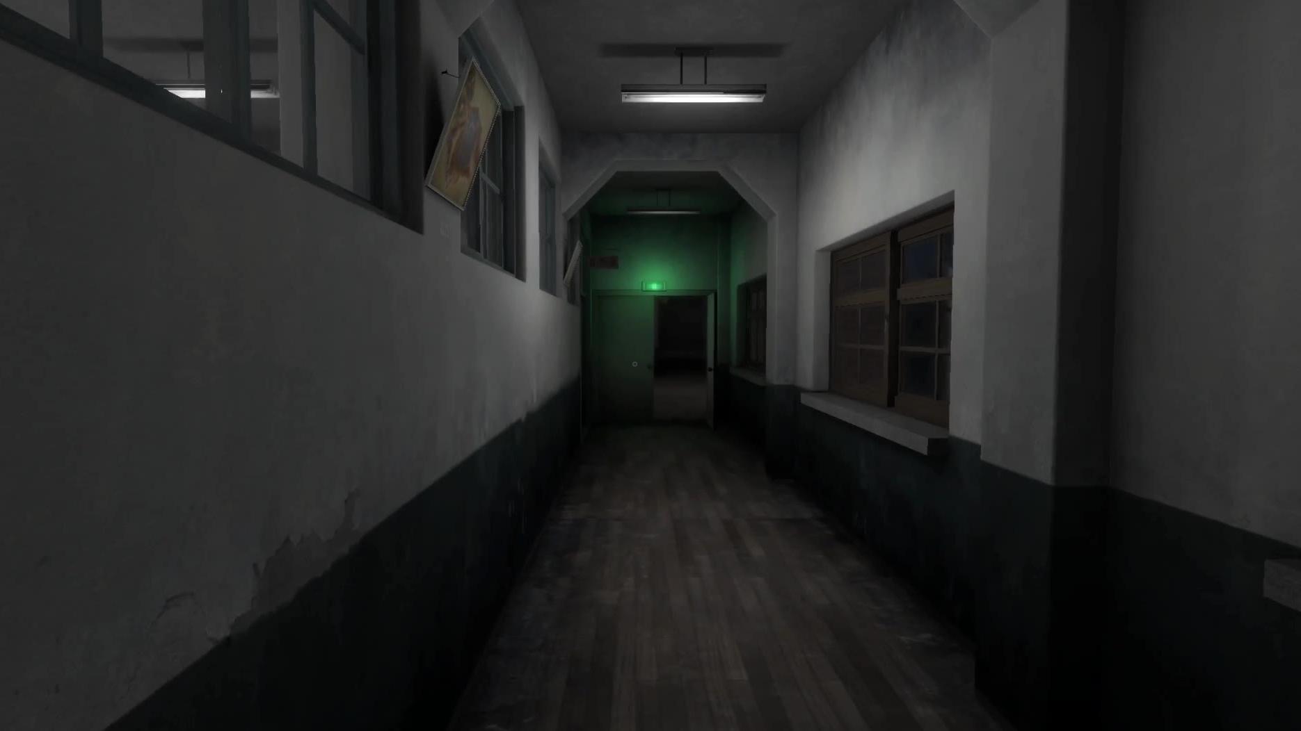 韩国恐怖游戏:校园迷宫(第4期)骚走位戏耍看门大爷