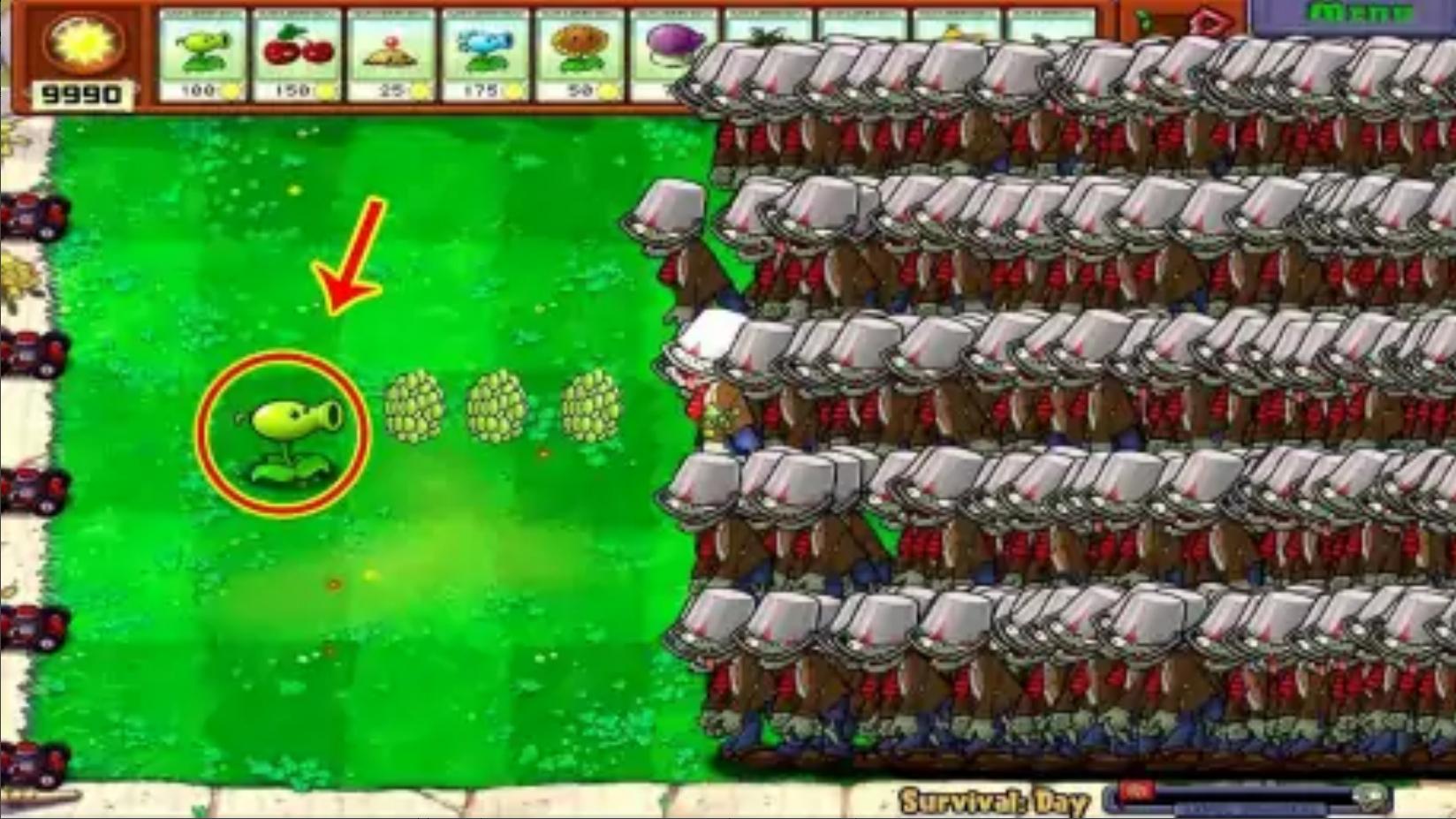 植物大战僵尸贝塔版玩家:这可能是我玩过最简单的关卡了