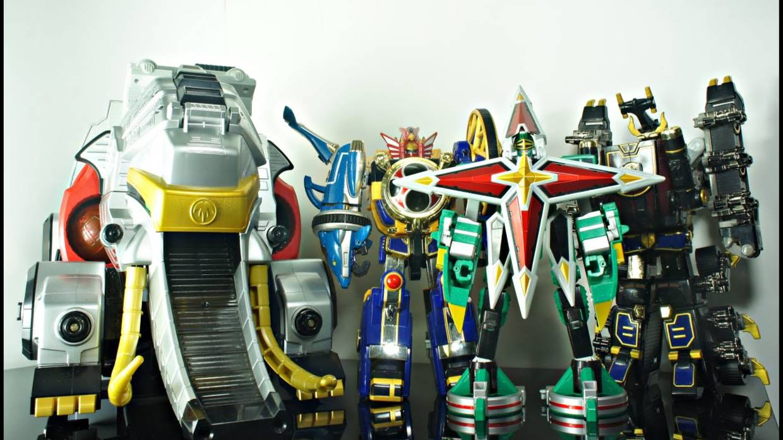 【DH】忍风战队  DX  全合体  机器人