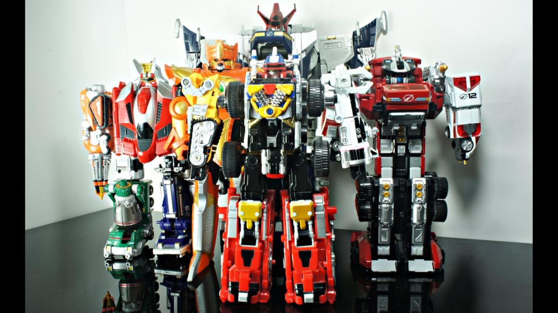 【DH】轰轰战队  DX  全合体  机器人