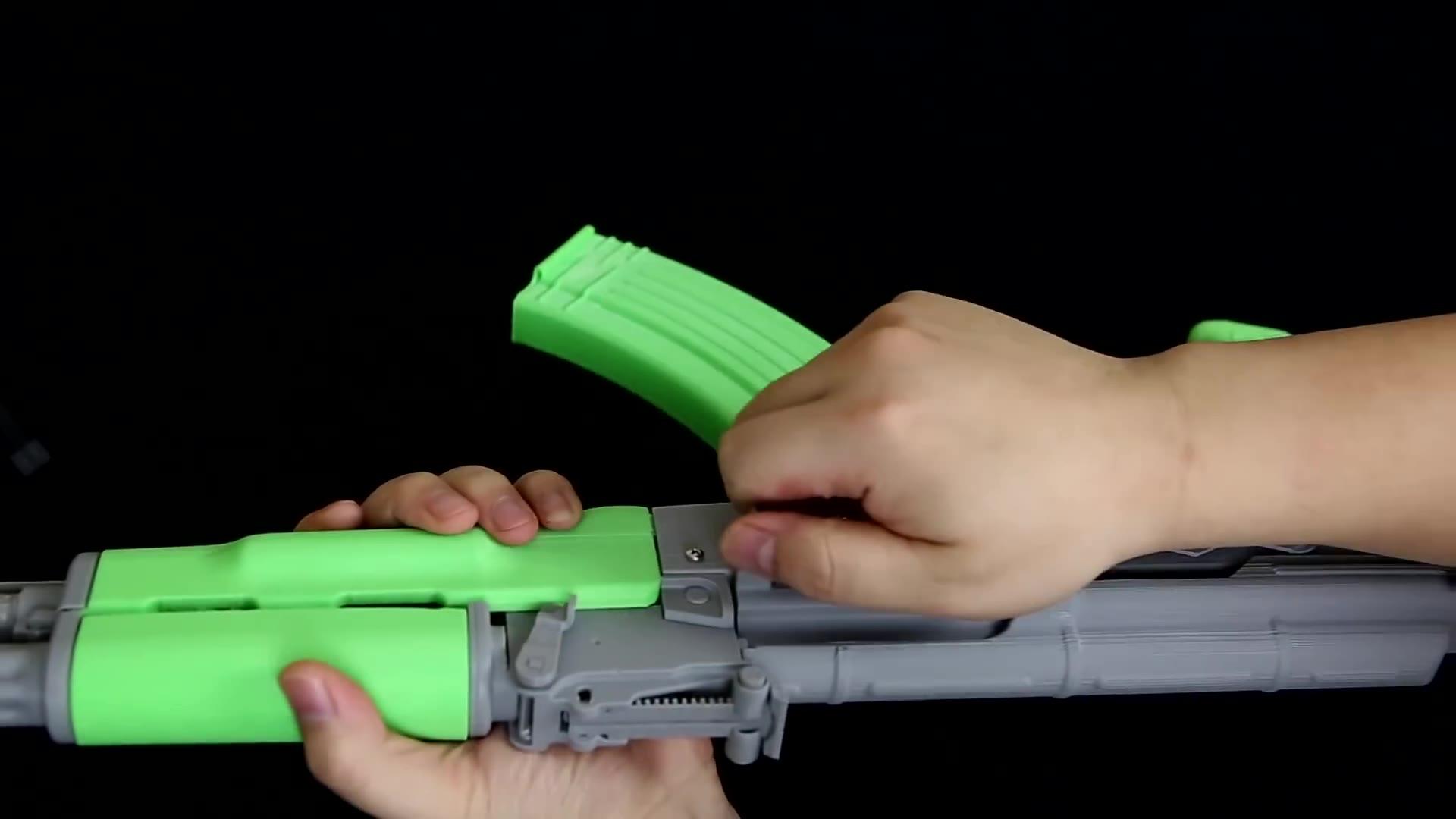 3D打印 玩具 AKM