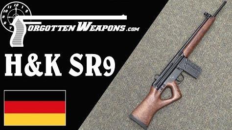 【被遗忘的武器/双语】H&K质量遇上拇指孔枪托--SR-9运动步枪