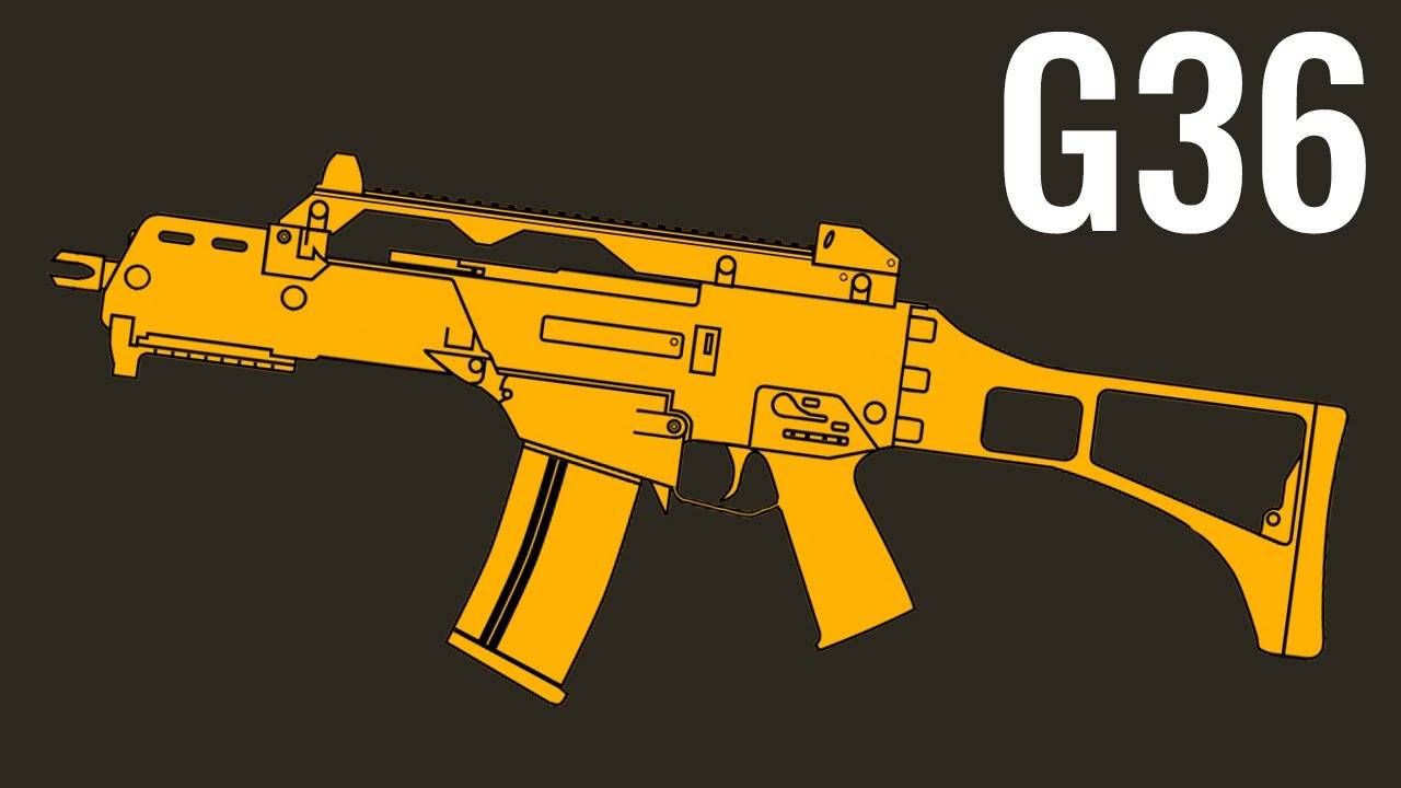 G36 - Comparison in 20 Different Video Games