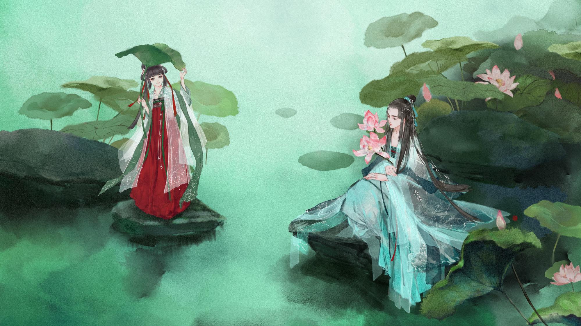 【小时姑娘&HITA】同簪——远远同簪同衣,已足够欢喜一生。
