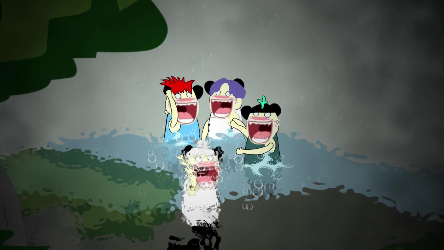 【沙雕恐怖动画】河
