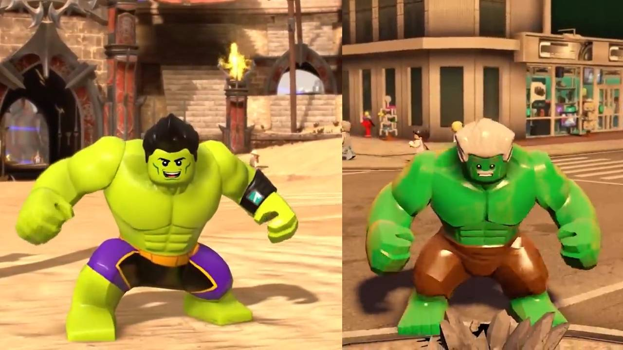 绿巨人集合!所有乐高绿巨人的精彩对战镜头!
