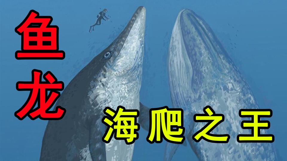 【恐龙时代】海爬之王!恐怖之海的先驱者-鱼龙   #海爬篇01
