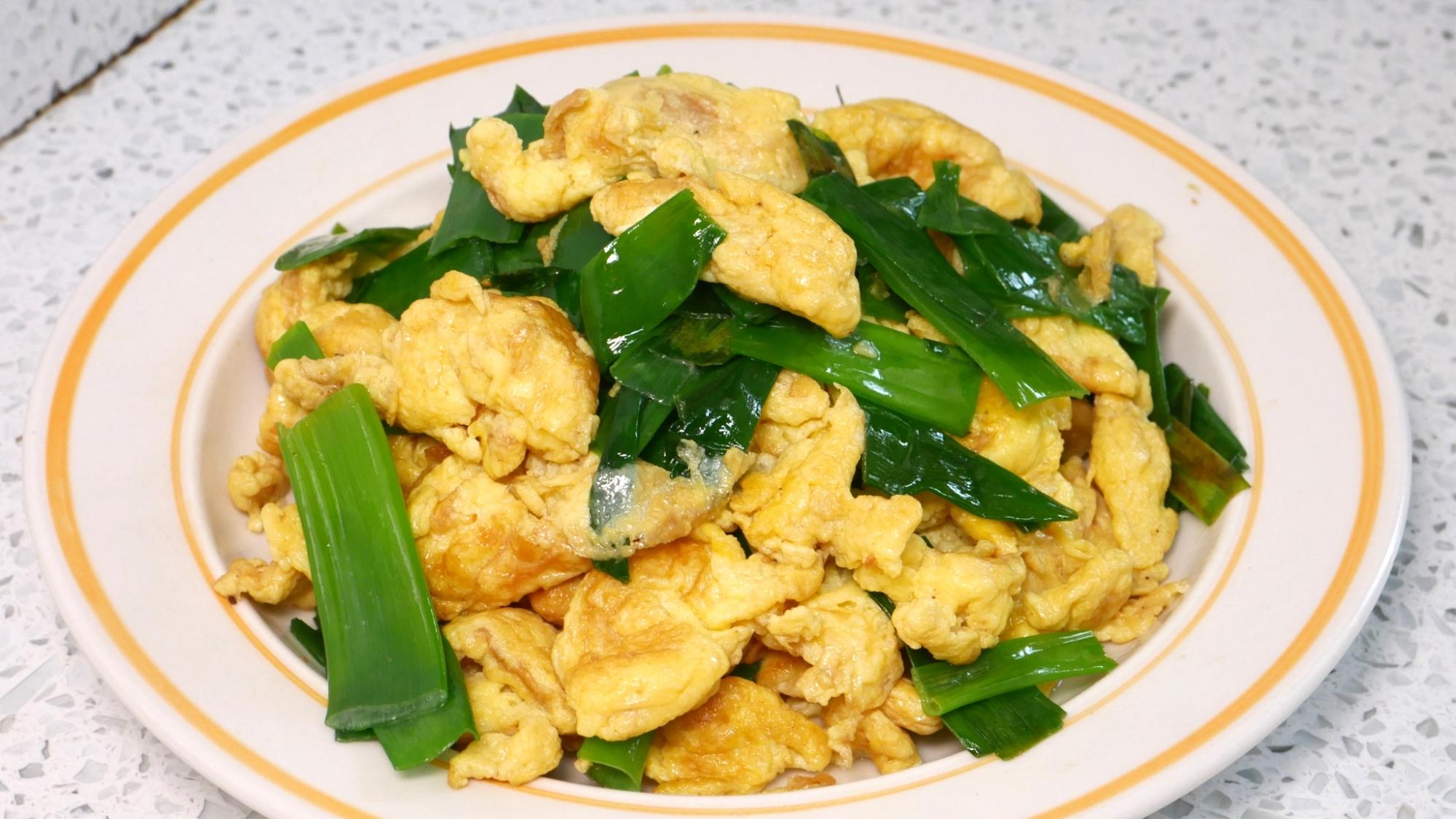 大葱炒鸡蛋这样做才更好吃,我家三天两头就吃,比大鱼大肉还香