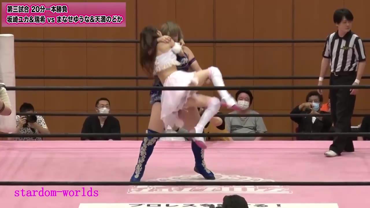 东京女子摔角TJPW-2020.7.4坂崎&瑞希vsまなせ&のどか 両国KFC大会
