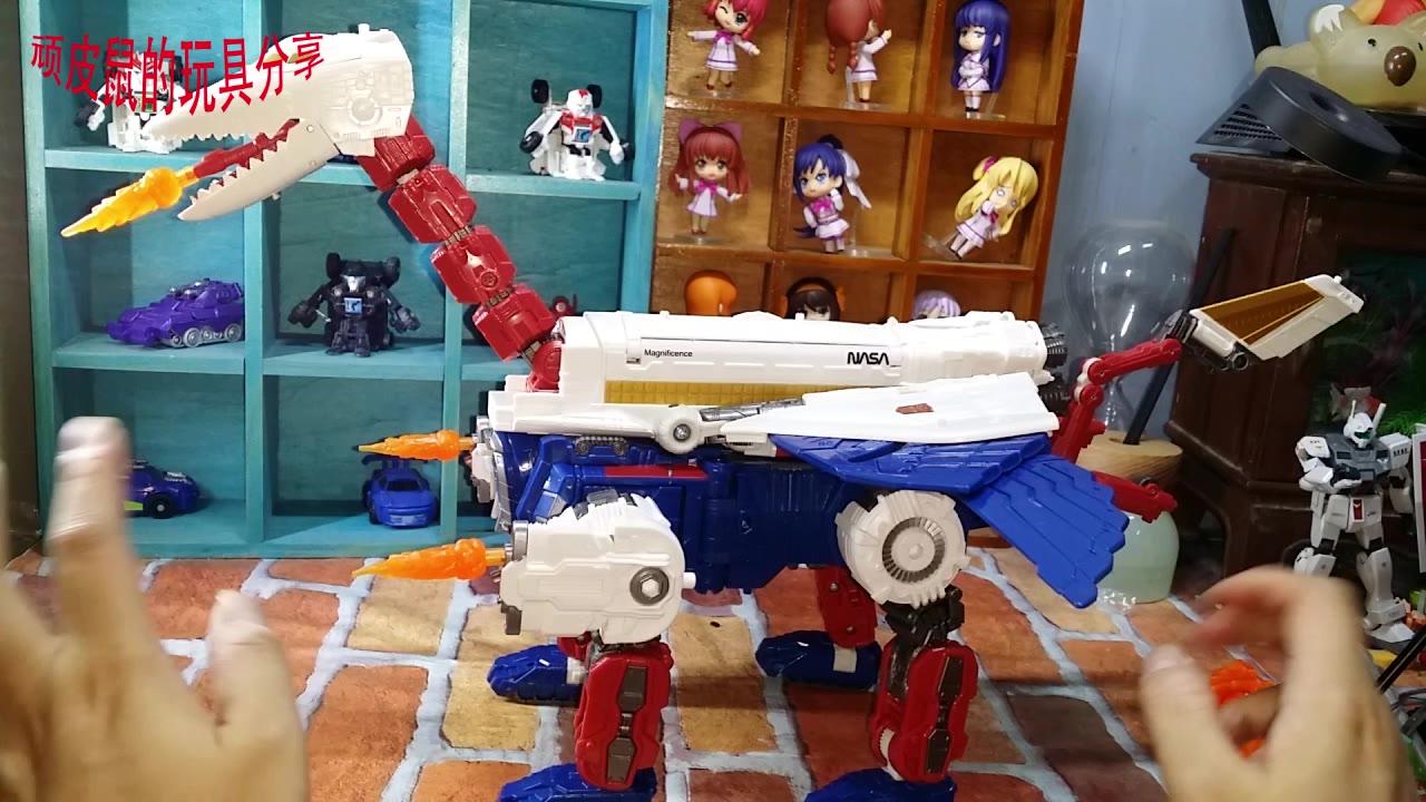 孩之宝变形金刚地出C级天猫号开箱+简单测评+分享 顽皮鼠的玩具分享