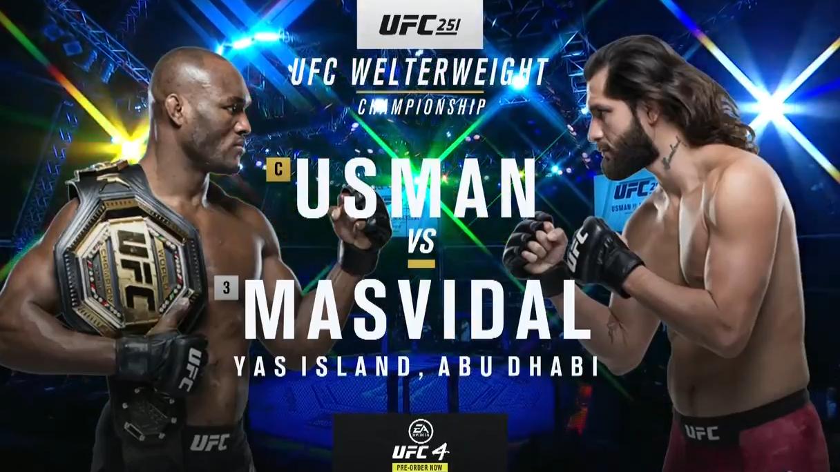 UFC251主赛 全场英文版解说!