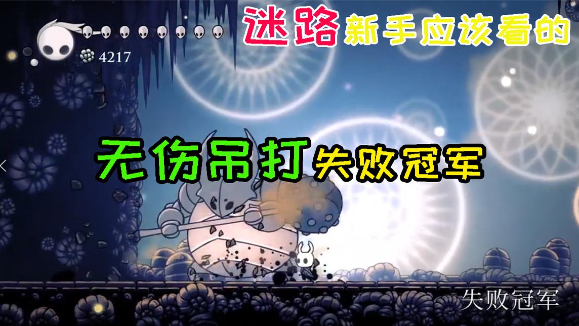 【空洞骑士】新手向112%全收集攻略失败冠军,灵魂暴君篇——第十四期