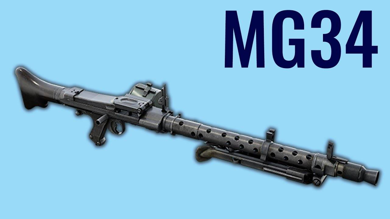 MG34 - Comparison in 10 Different Video Games