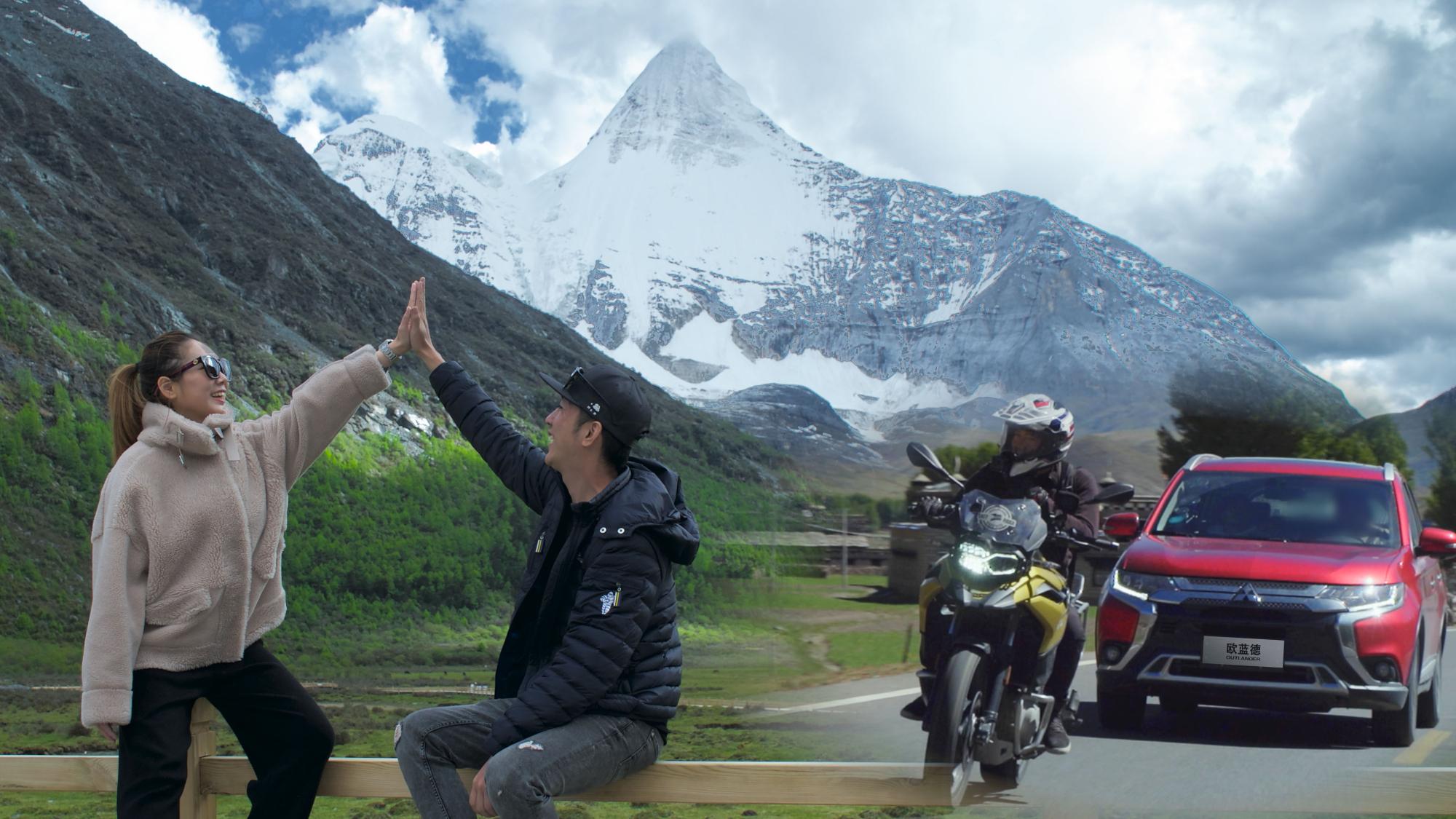 历时4天抵达稻城亚丁,被三神山环绕是什么感觉?