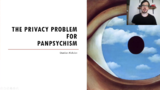 The Privacy Problem for Panpsychism 泛心理主义的隐私问题