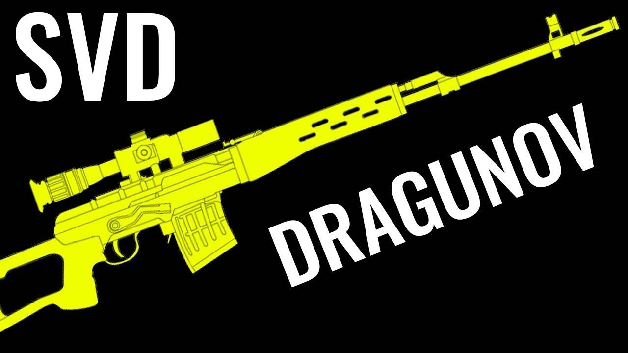 SVD DRAGUNOV - Comparison in 20 Different Video Ga