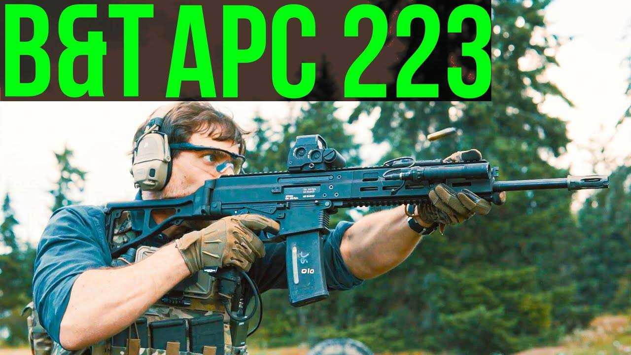 B-T APC 223 -Swiss rifle-
