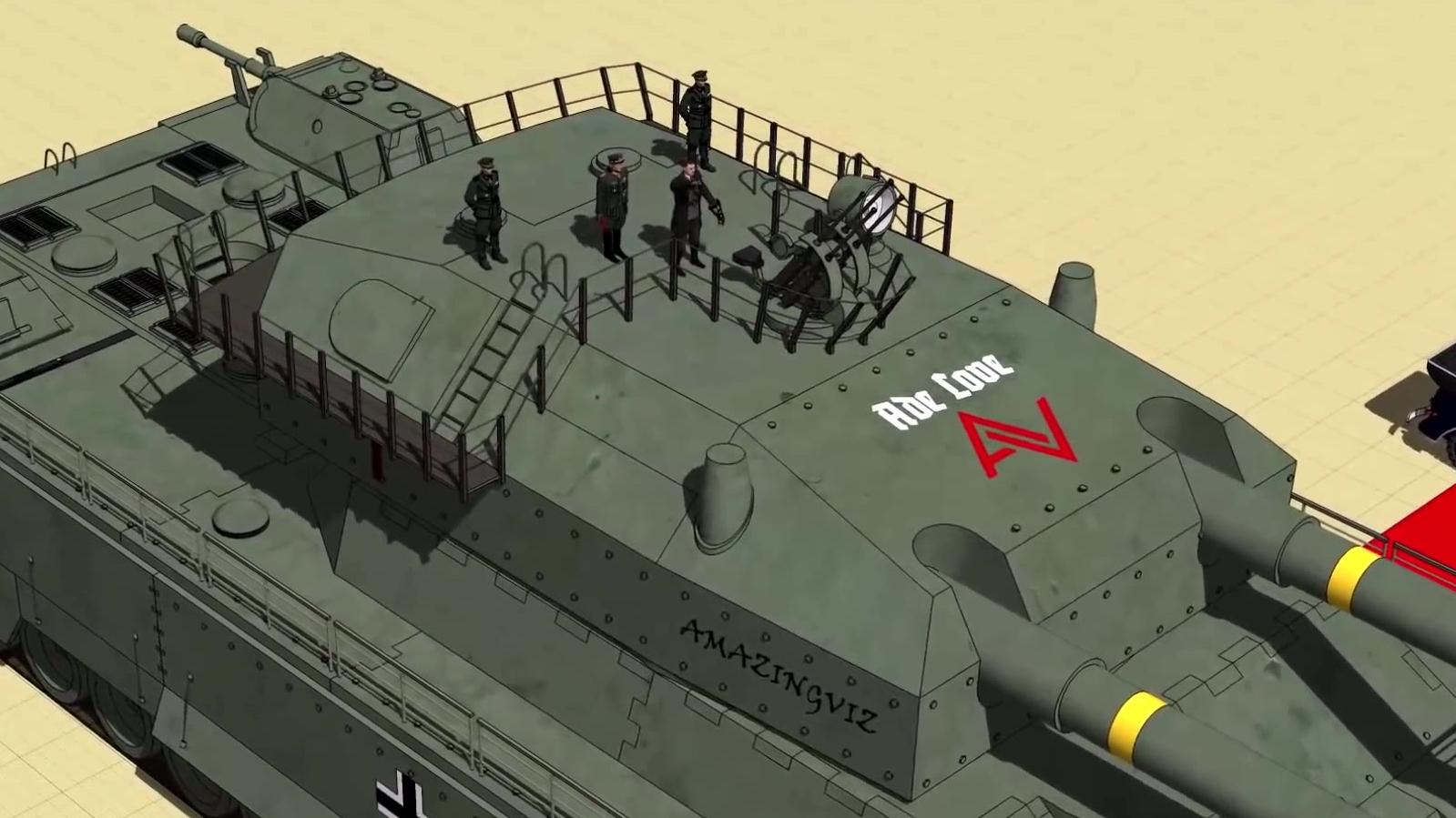 你没看错!这些古灵精怪的设计,真的是存在过的坦克!