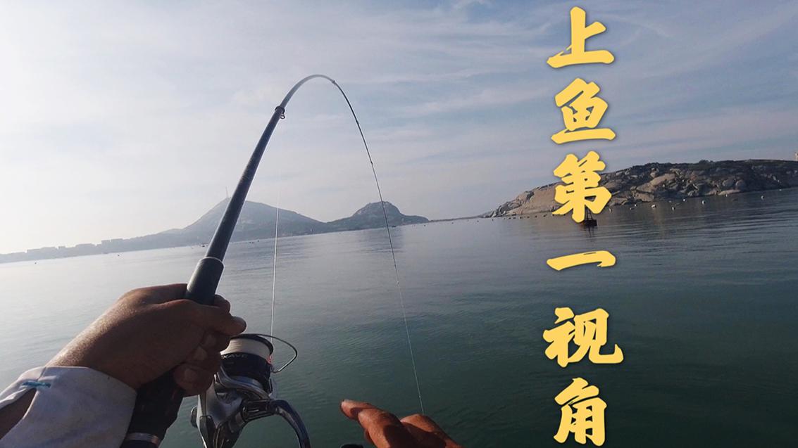一人一船一把鱼竿阿左用第一视角记录自己的海岛钓鱼生活(2)