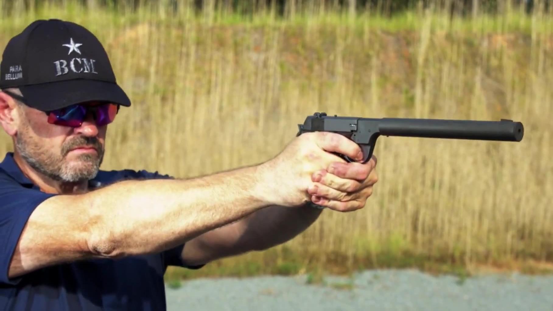 【名枪实弹】高标准HDM手枪