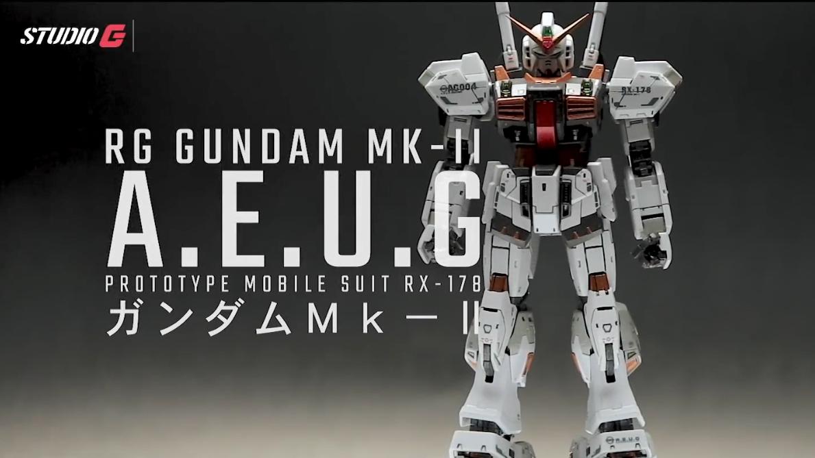 GUNPLA CUSTOM BUILD _ RG 1_144 GUNDAM MK-II R