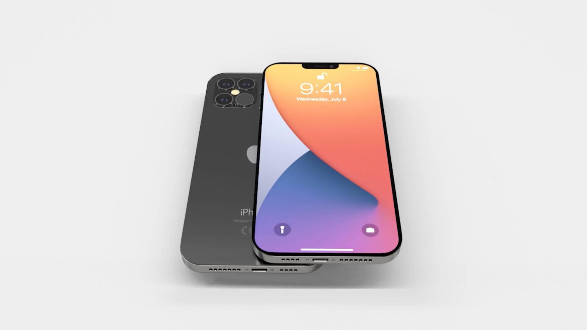 「科技V报」iPhone 12屏幕或取消2.5D弧面设计;华为台式机曝光处理器赞-20200720