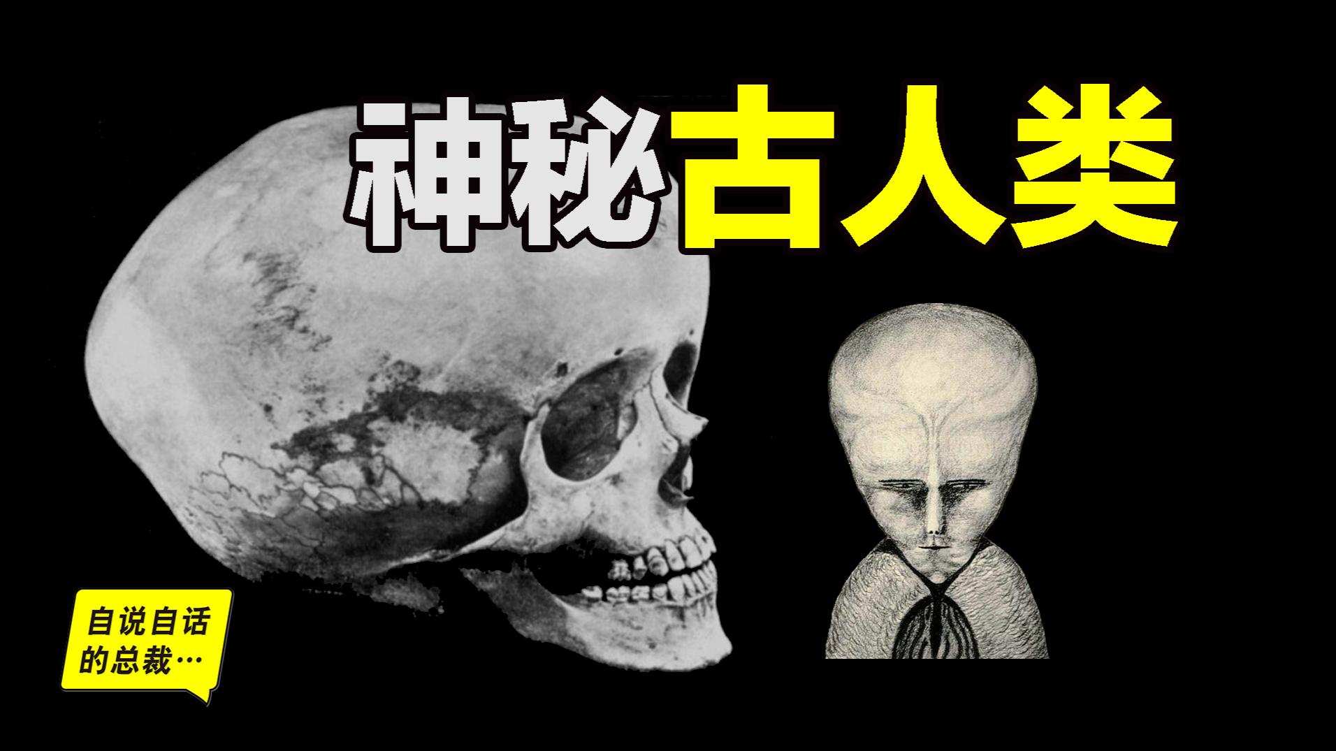 五个神秘的古人类,其中一种太像外星人了!