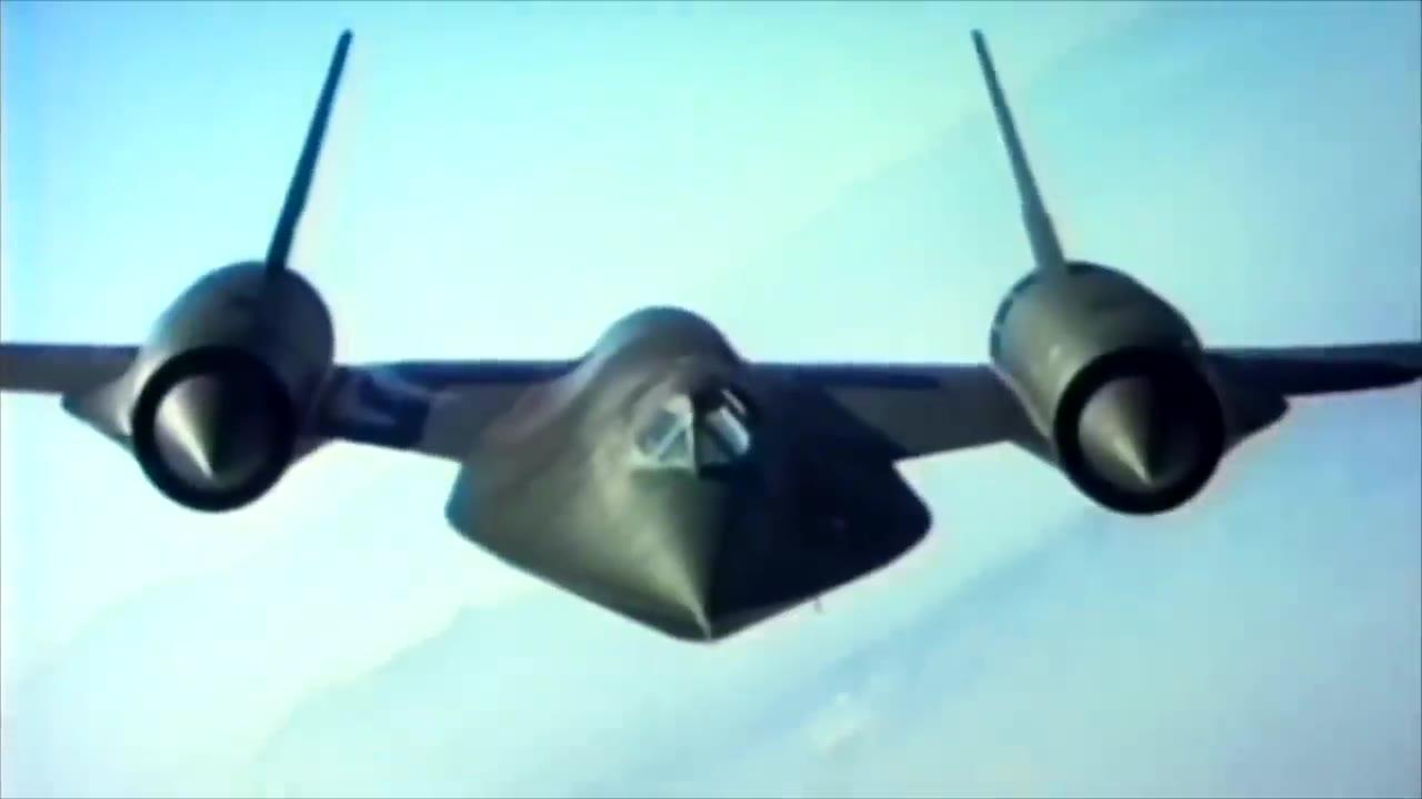 SR-71黑鸟侦察机的疯狂工程