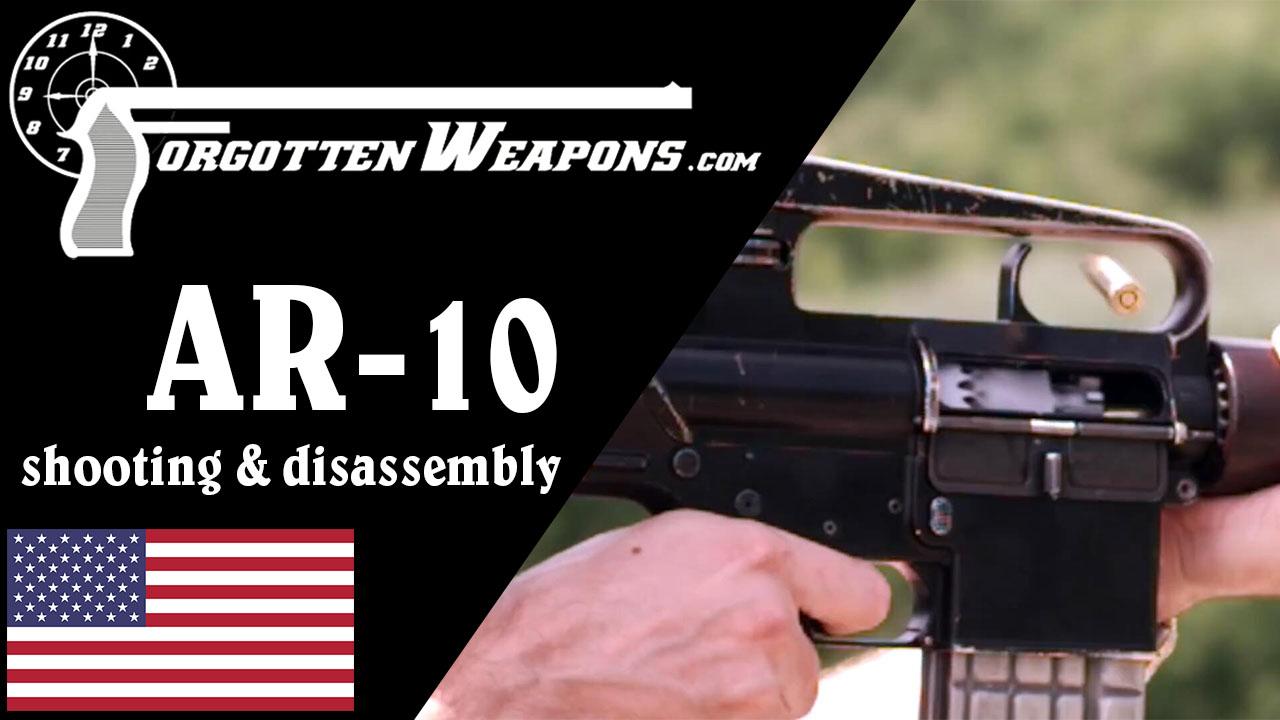 【被遗忘的武器/双语】阿玛莱特AR-10自动步枪结构分析/靶场试射