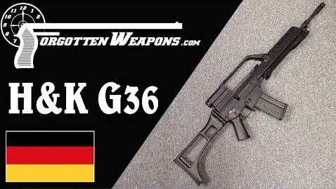 【被遗忘的武器/双语】H&K G36--德军列装了5.56口径弹药