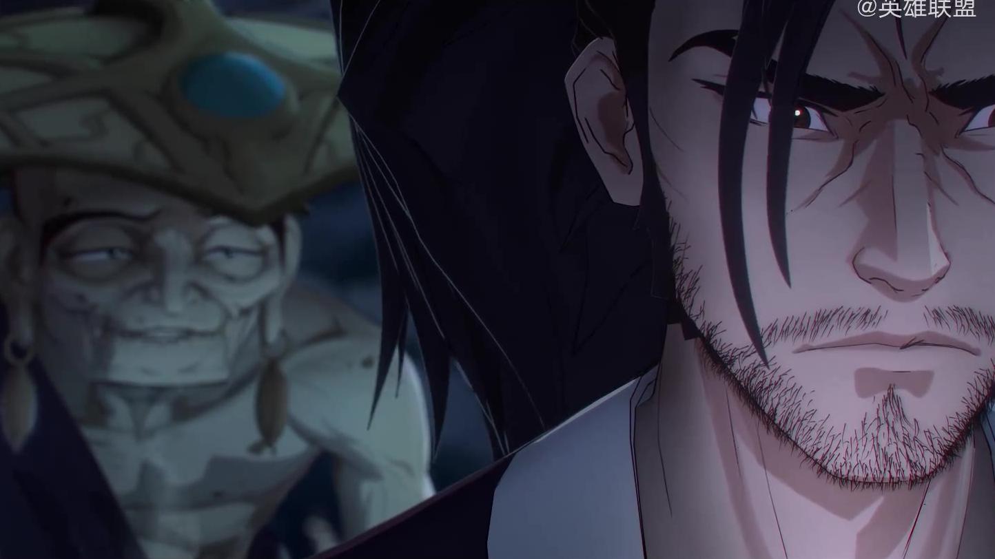 LOL新英雄永恩 亚索动画短片《乘风归》。 永恩:疾风亦有归途,弟弟。愿艾欧尼亚之灵指引