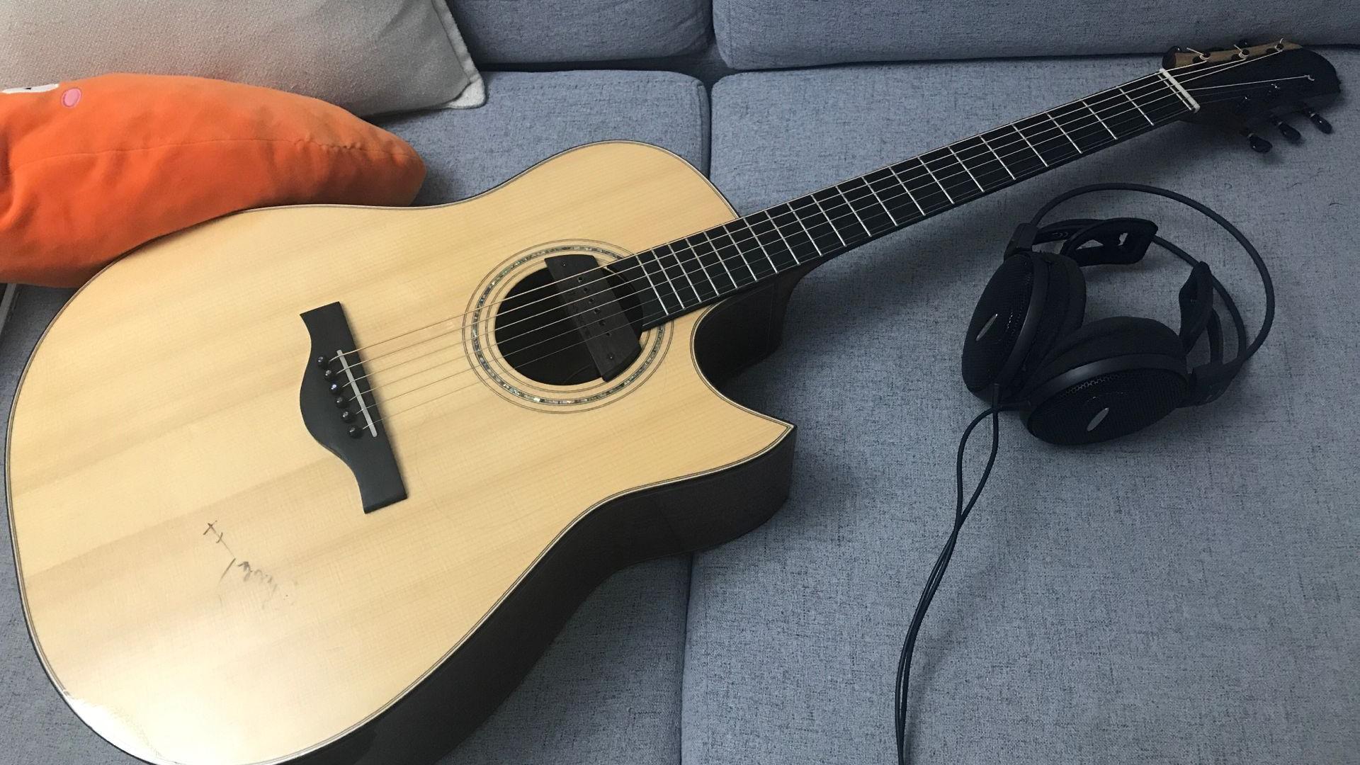 【指弹吉他】《雪落下的声音》翻弹