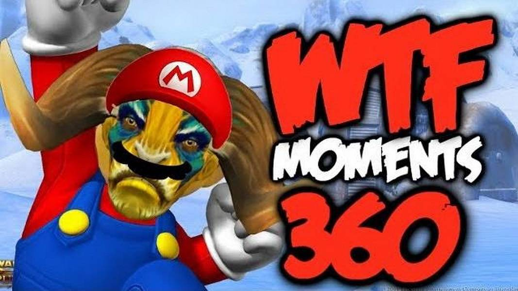 Dota 2 WTF Moments 360