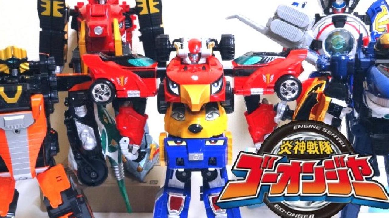 【wotafa】炎神战队 DX G3-G12 全合体