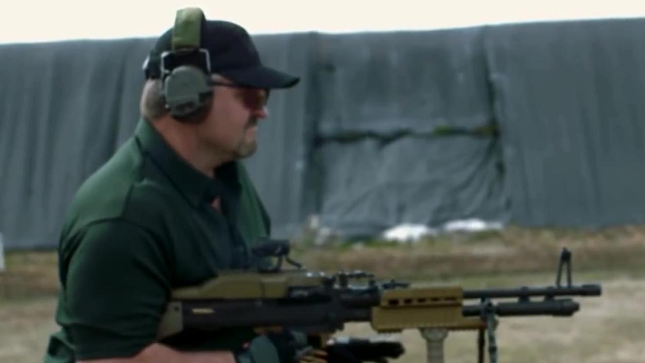 【名枪实弹】M60E6 兰博风格实弹射击