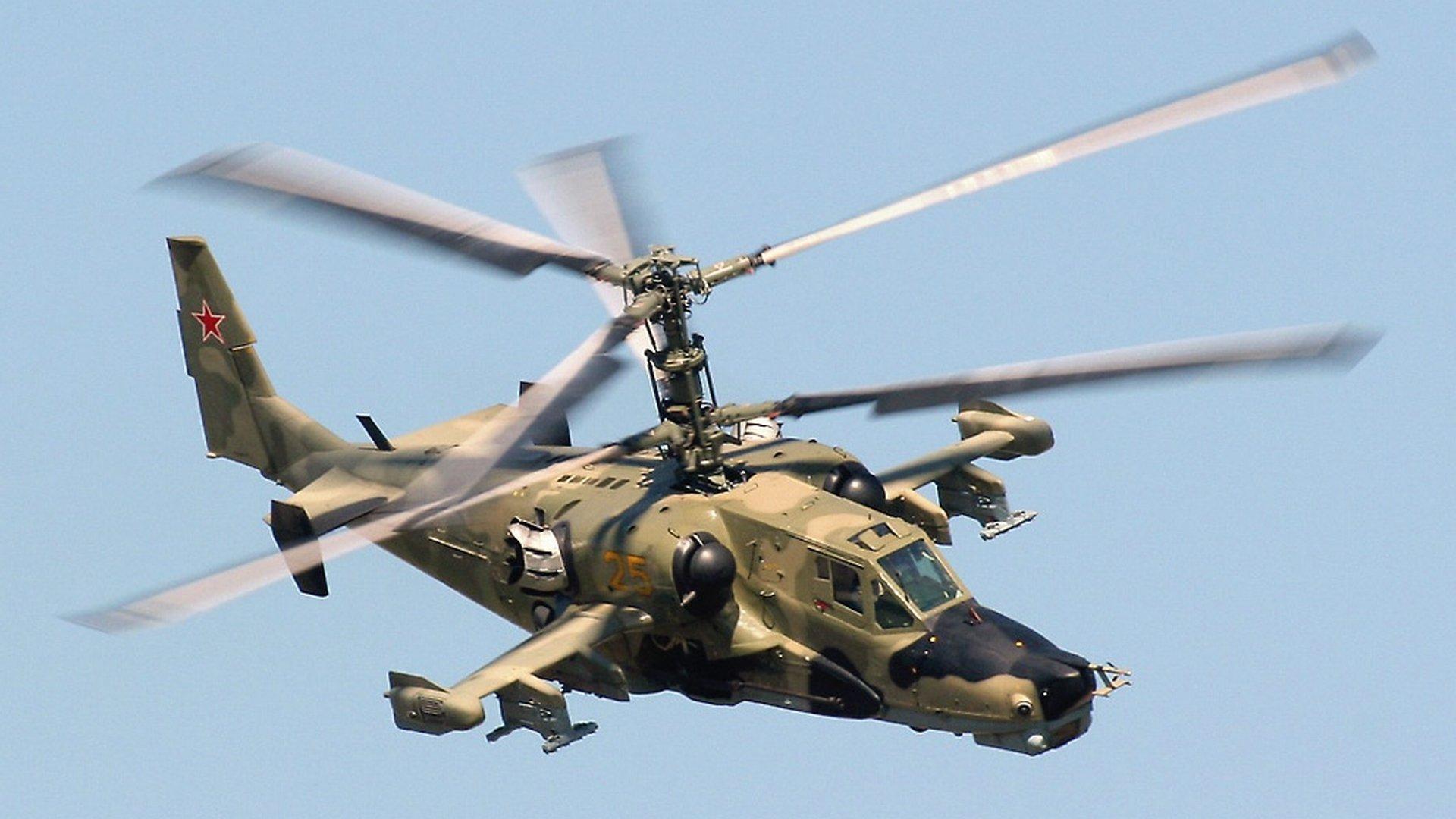 【讲堂566期】详解俄罗斯Ka-50黑鲨武装直升机,弹射座椅共轴双旋翼,创造三个世界第一