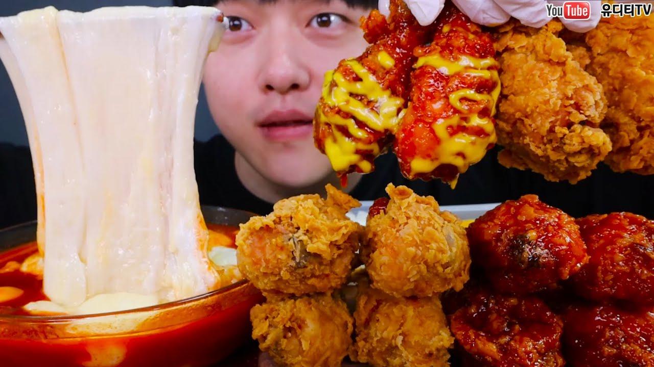 유디티TV:辣味奶酪和烧烤鸡肉