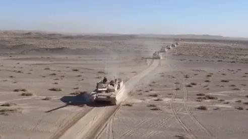 99A沙漠涂装 (这也太民主了)