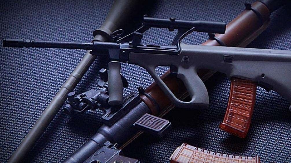 枪械科普:斯太尔AUG