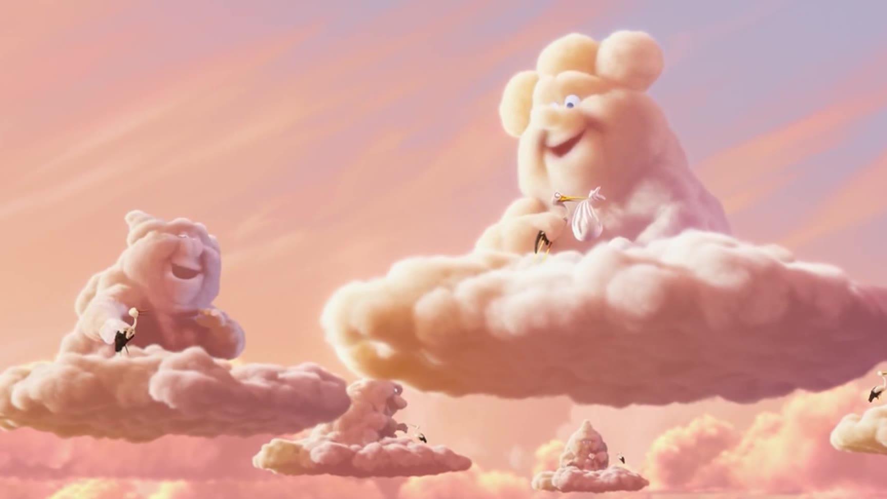 治愈系动画短片《暴力云与送子鹳》