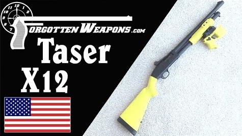 【被遗忘的武器/双语】泰瑟X12 XREP--霰弹枪弹内的泰瑟枪