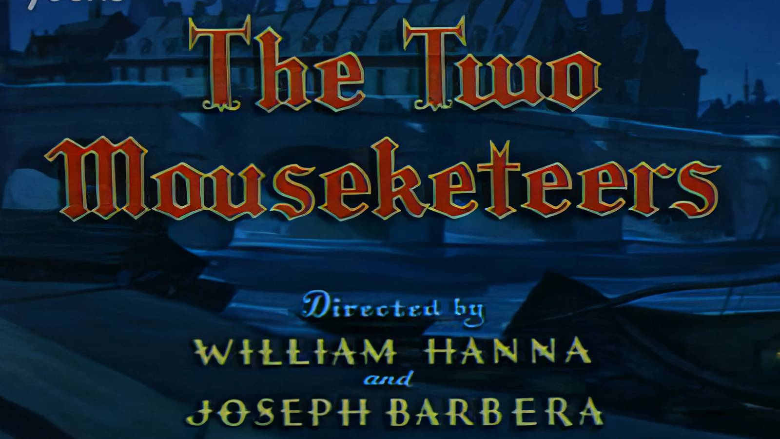 【4kai修复60帧】15 猫和老鼠英文版  The Two Mouseketeers_6