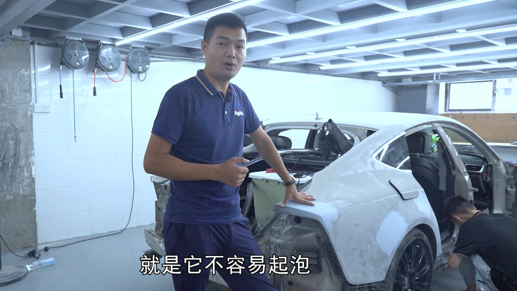 揭秘事故车维修翻新过程,结尾告诉你这样修车,选车的颜色不吃亏