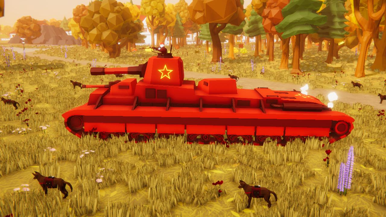 坦克模拟器苏联战役05:T42极重型坦克,还能生产反坦克犬?