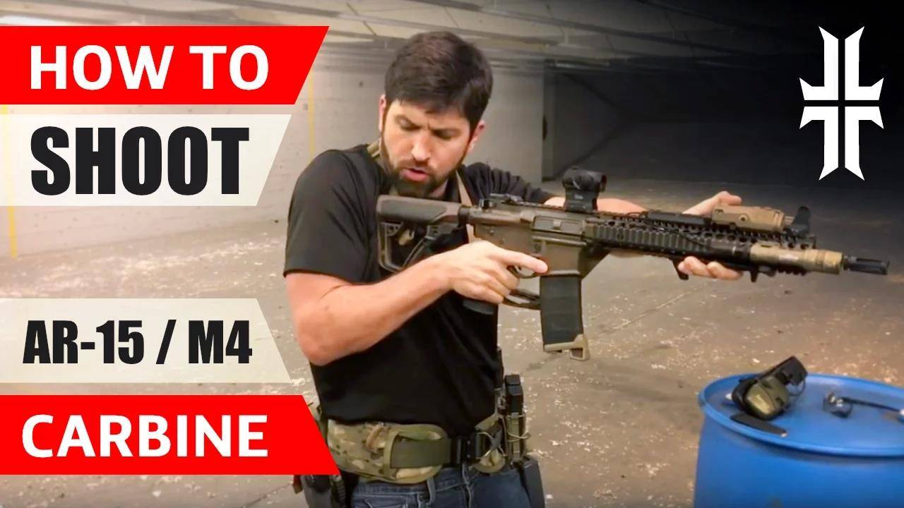 【中字】【WPS】保姆级卡宾枪持枪姿势教学