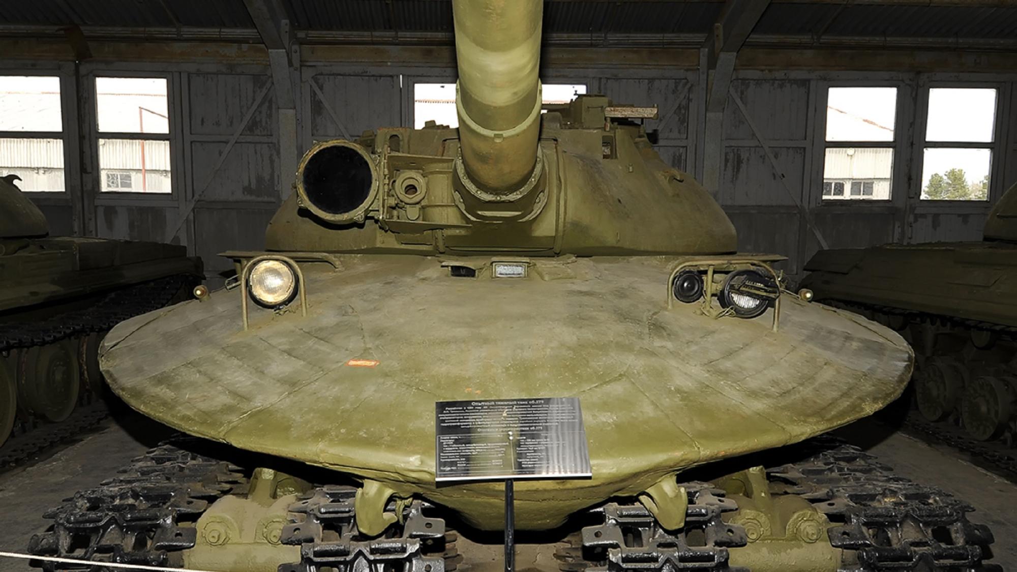 【讲堂568期】核大战下的苏联怪兽,外形像螃蟹,详解苏联279工程重型坦克